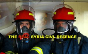 The real Syrian rescue workers who go to all parts of Syria.